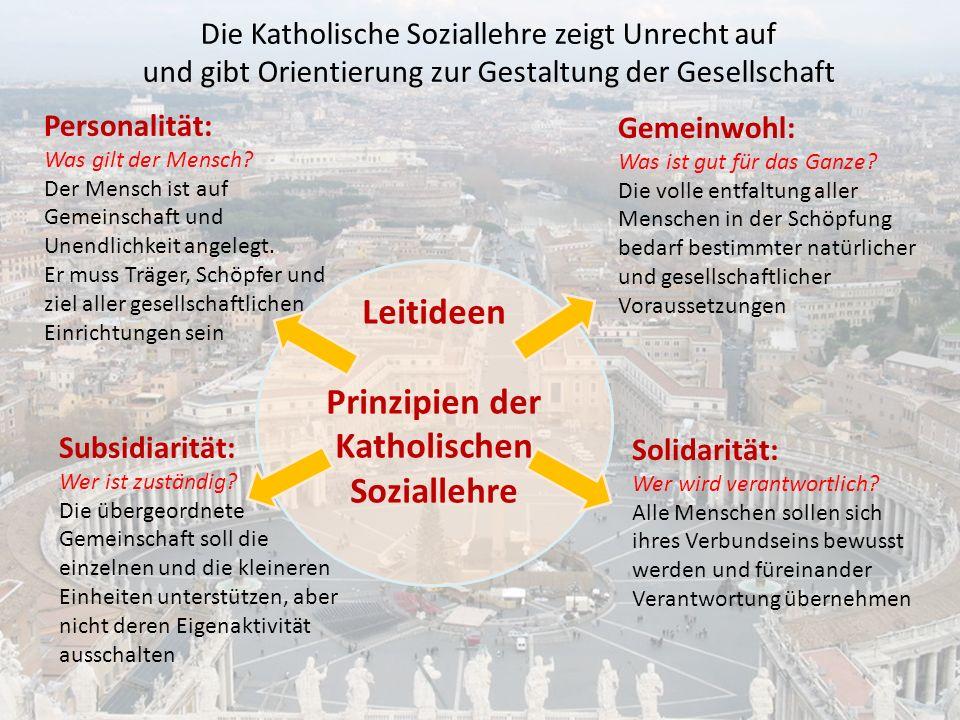 Katholischen Soziallehre