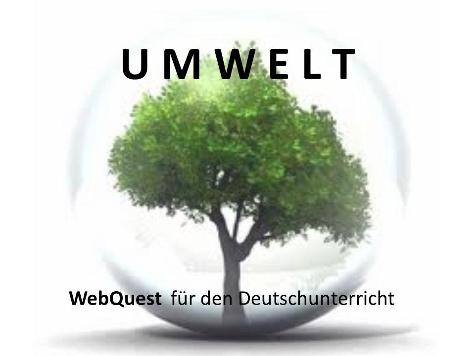 WebQuest für den Deutschunterricht