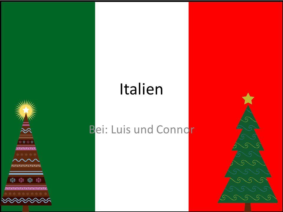 Italien Bei: Luis und Connor