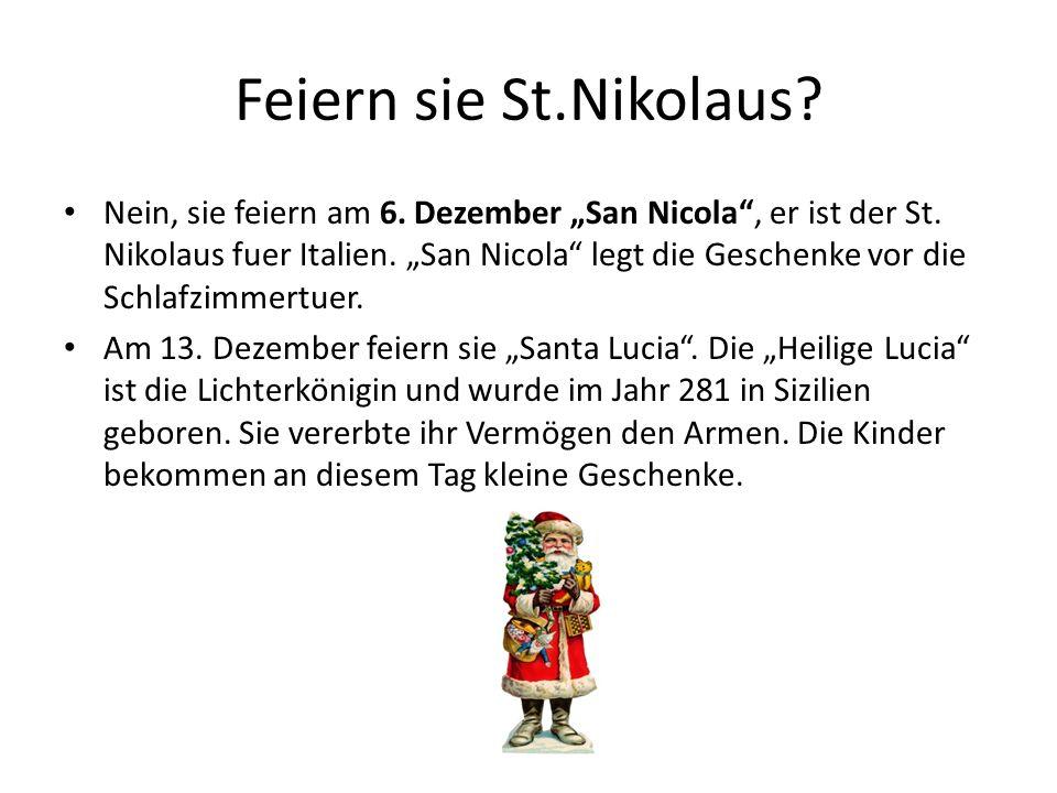 Feiern sie St.Nikolaus