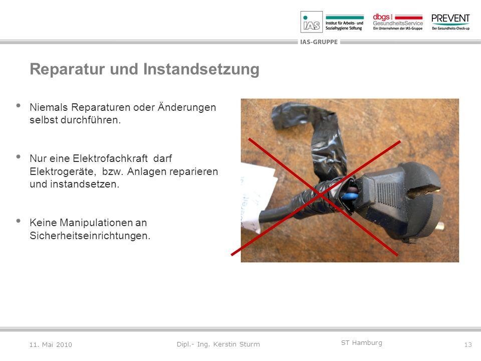 Reparatur und Instandsetzung