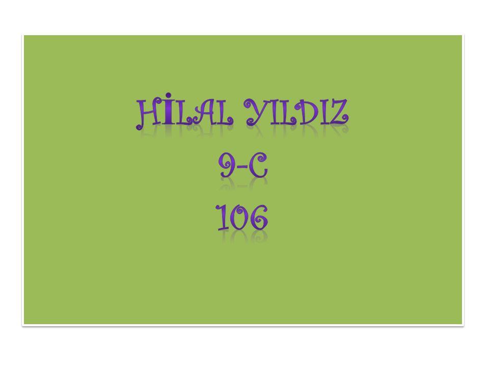 HİLAL YILDIZ 9-C 106