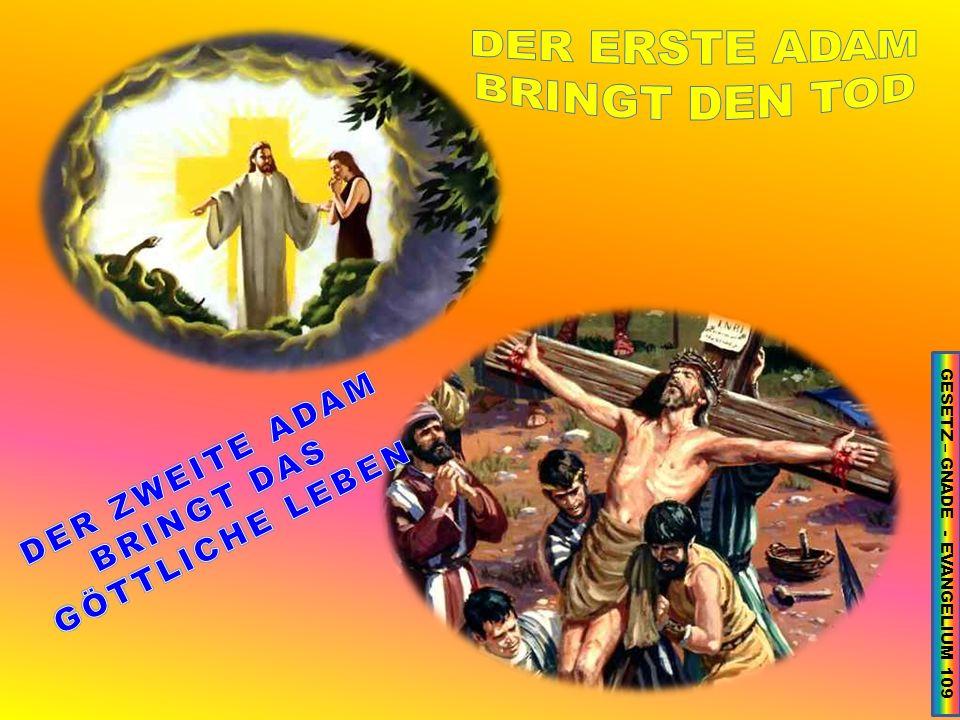 GESETZ – GNADE - EVANGELIUM 109