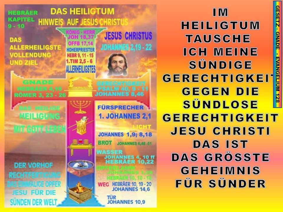 GESETZ – GNADE - EVANGELIUM 128