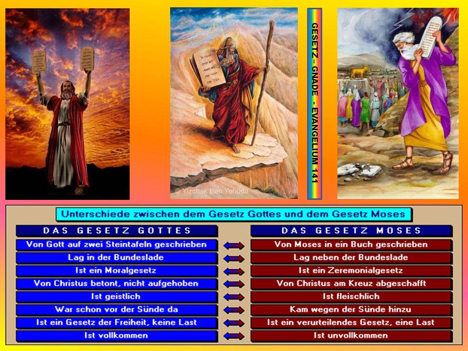 GESETZ – GNADE - EVANGELIUM 141