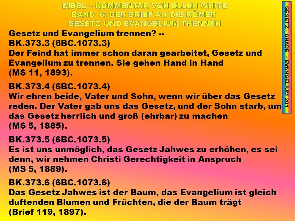 Gesetz und Evangelium trennen -- BK.373.3 (6BC.1073.3)