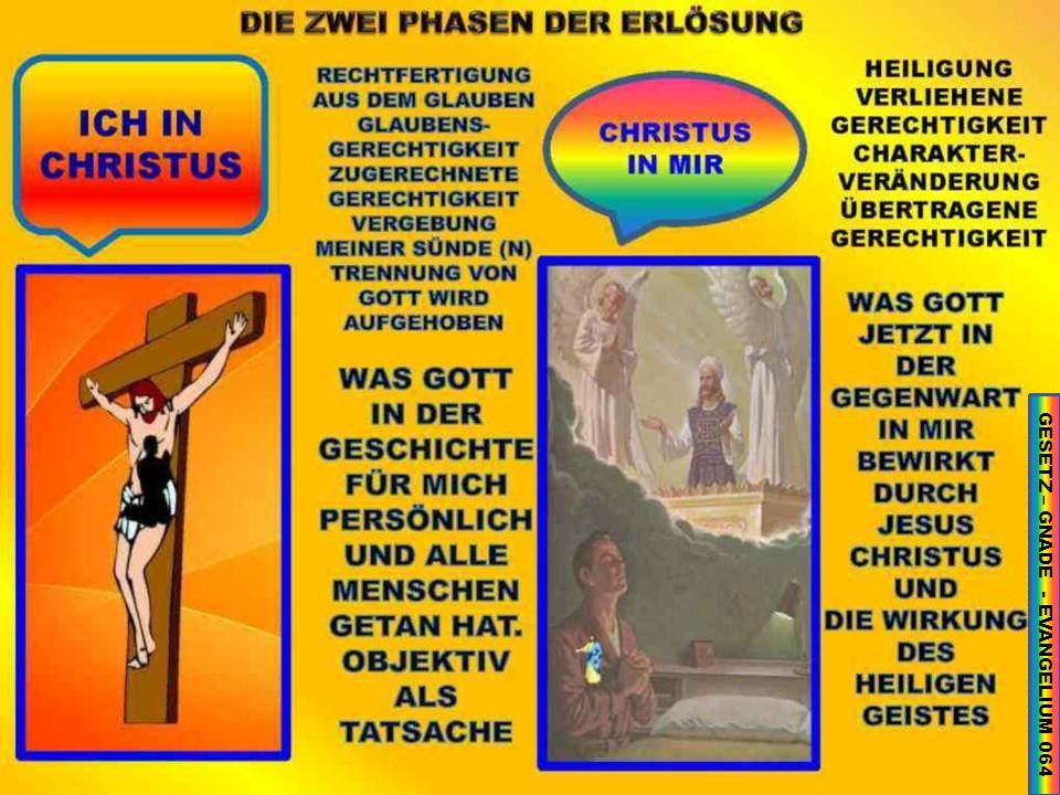 GESETZ – GNADE - EVANGELIUM 064