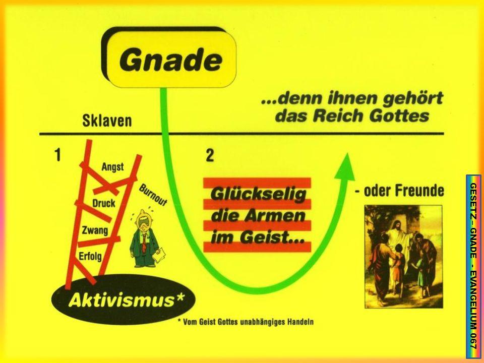 GESETZ – GNADE - EVANGELIUM 067