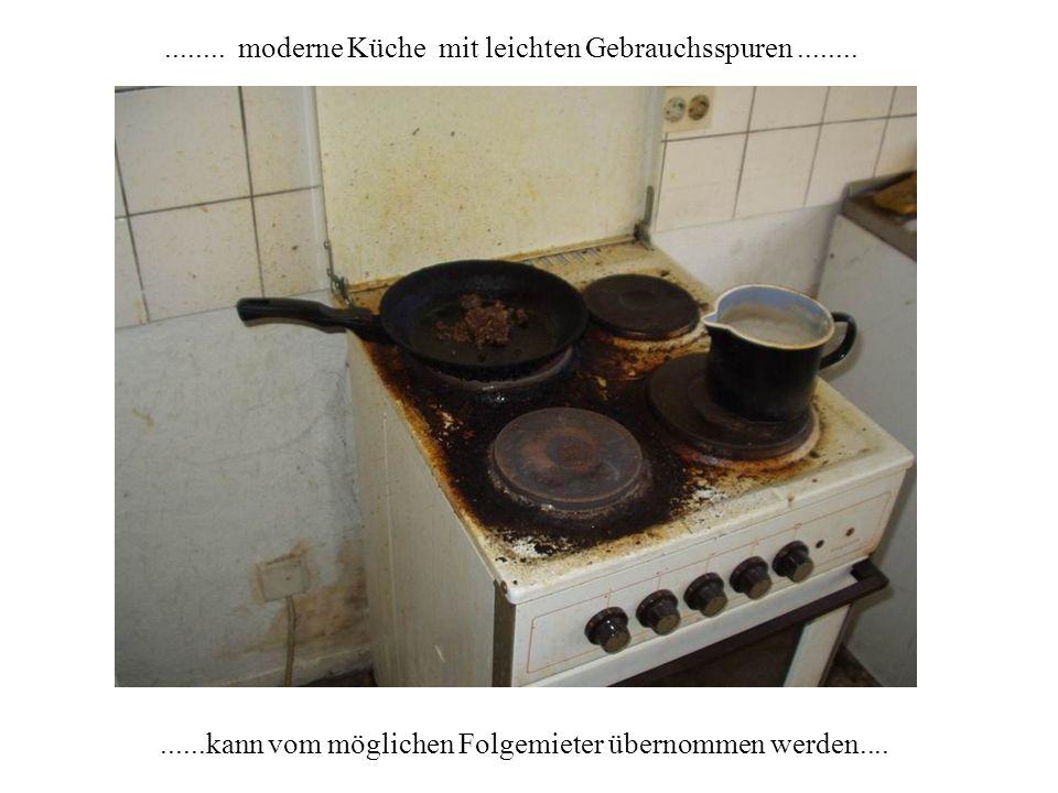 ........ moderne Küche mit leichten Gebrauchsspuren ........
