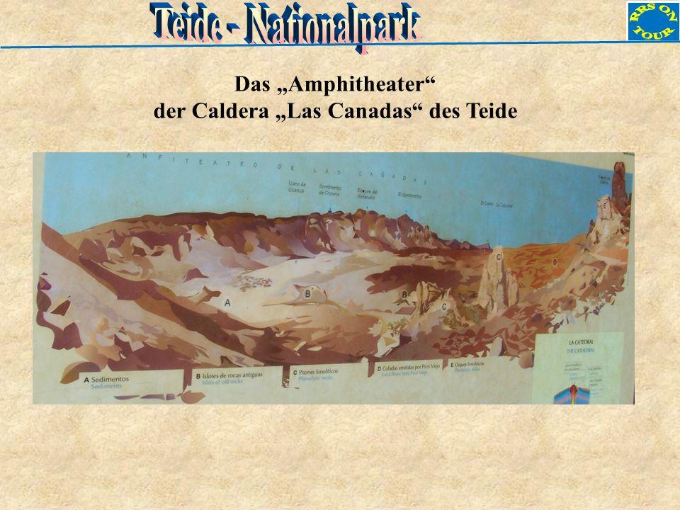 """der Caldera """"Las Canadas des Teide"""