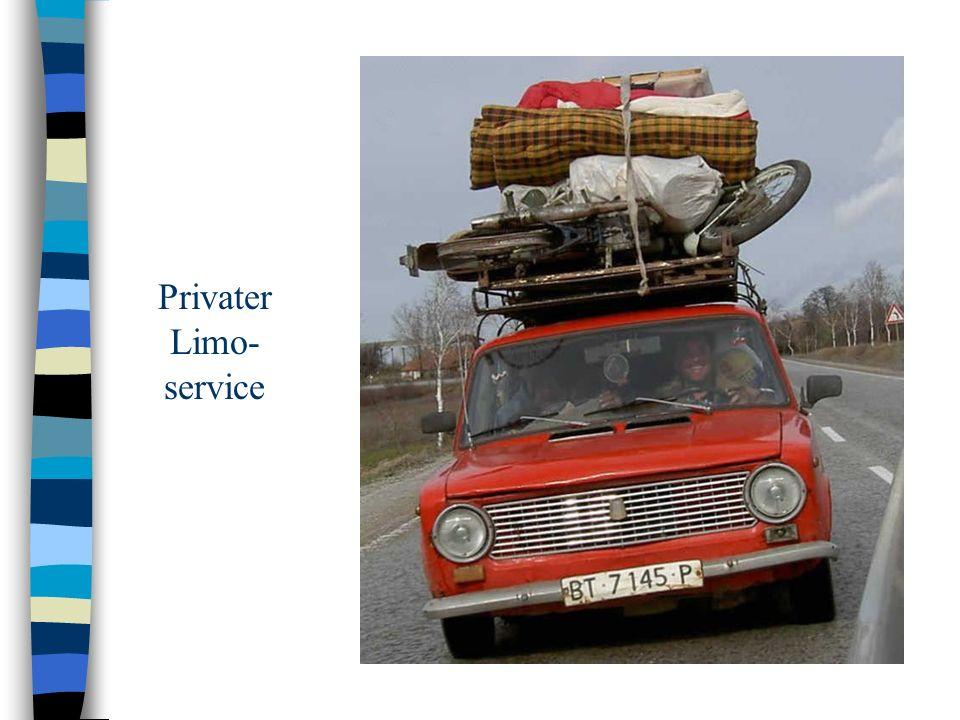 Privater Limo-service