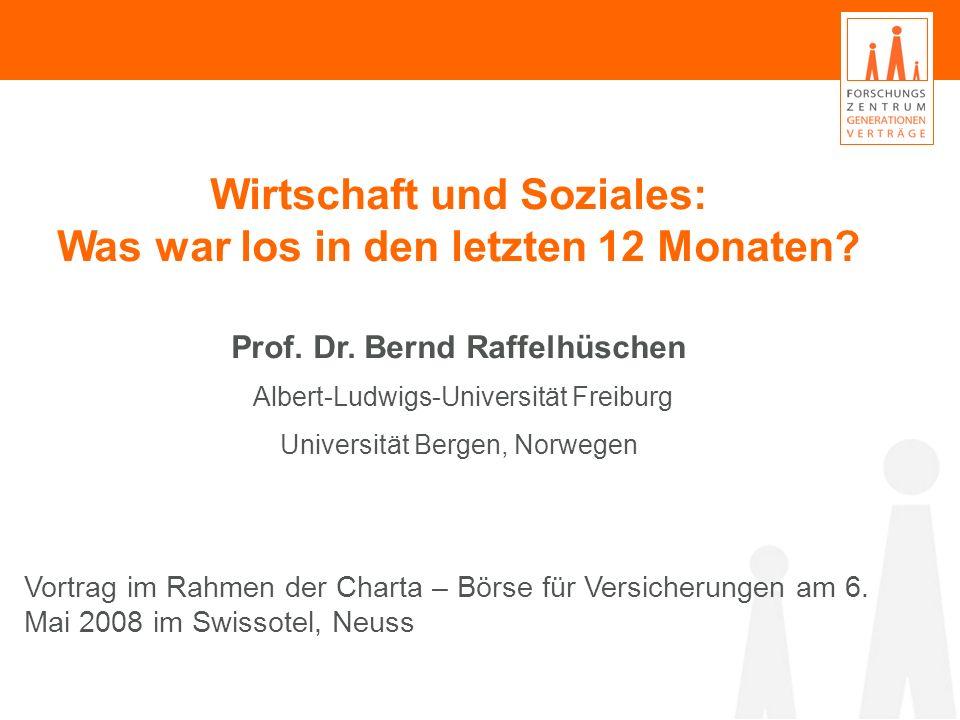 Wirtschaft und Soziales: