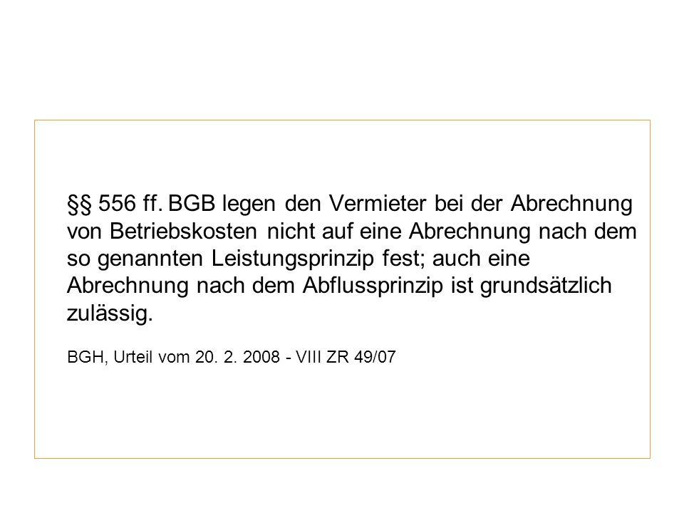BGH, Urteil vom 20. 2. 2008 - VIII ZR 49/07