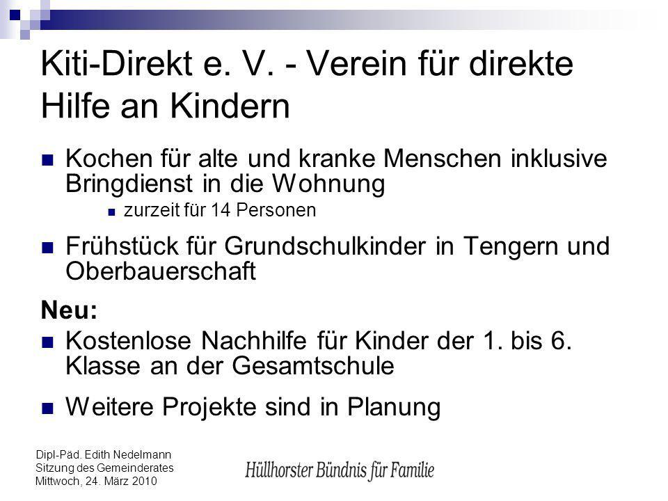 Kiti-Direkt e. V. - Verein für direkte Hilfe an Kindern