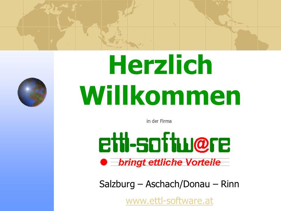 Salzburg – Aschach/Donau – Rinn