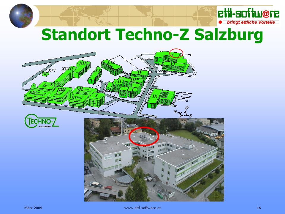 Standort Techno-Z Salzburg