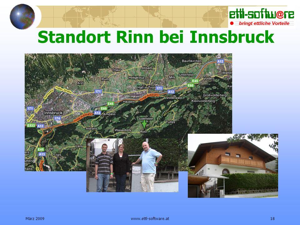 Standort Rinn bei Innsbruck