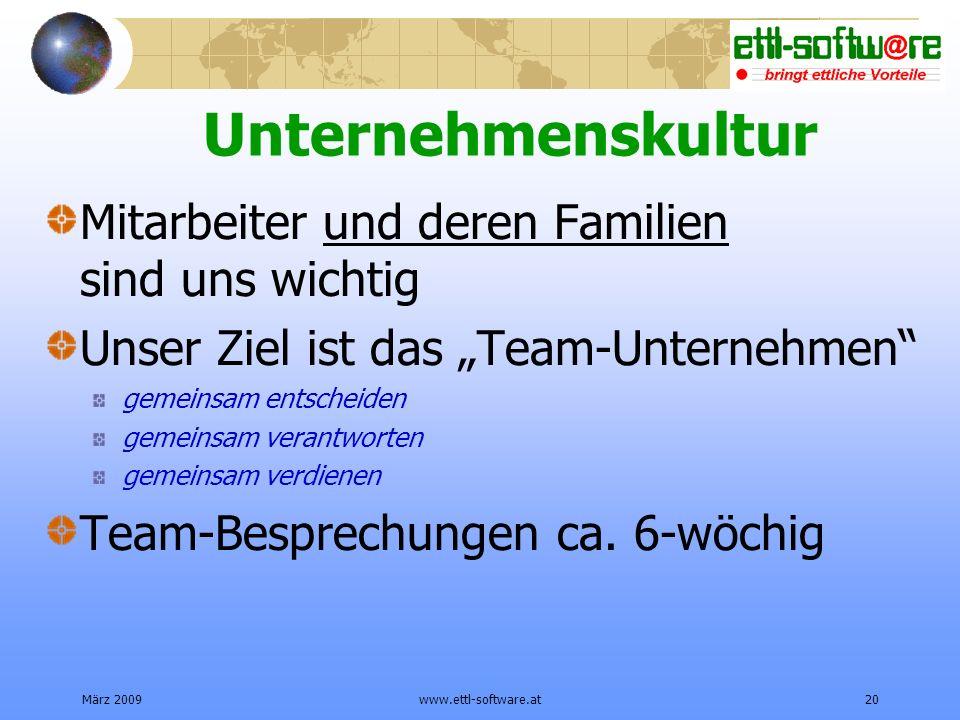 Unternehmenskultur Mitarbeiter und deren Familien sind uns wichtig