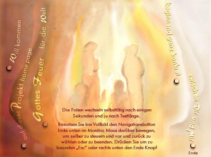 Gottesfeuer-Eine Vision wächst