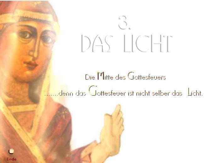 3. Das Licht Ende