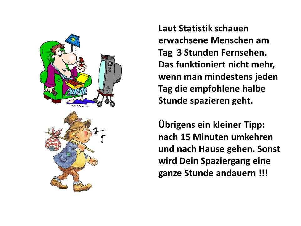 Laut Statistik schauen erwachsene Menschen am Tag 3 Stunden Fernsehen