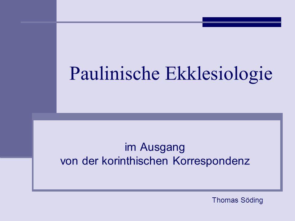 Paulinische Ekklesiologie