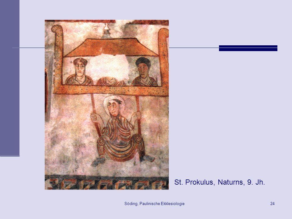 Söding, Paulinische Ekklesiologie