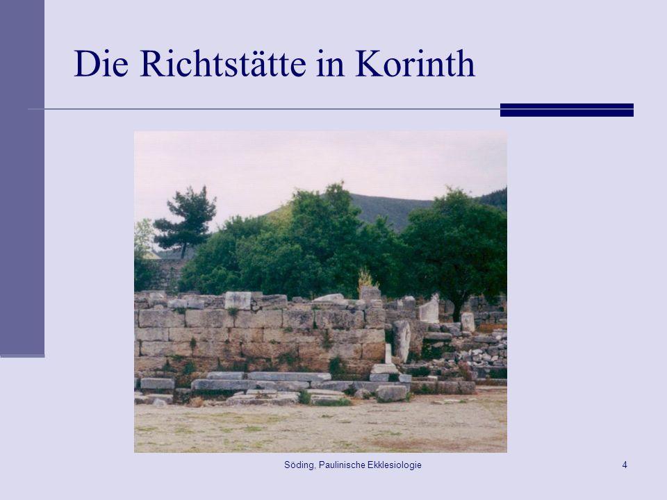 Die Richtstätte in Korinth