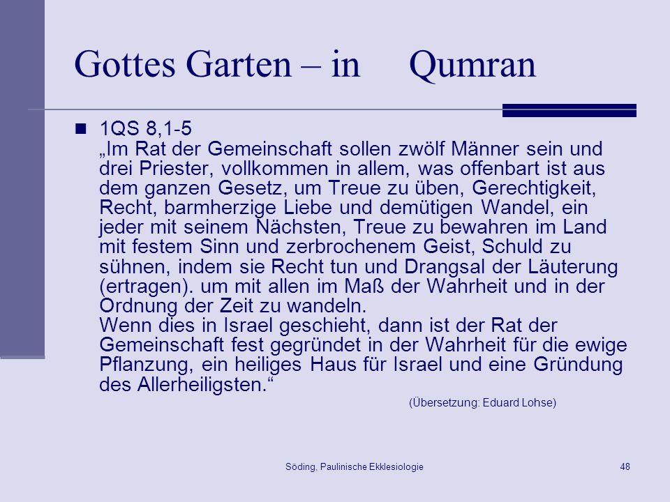Gottes Garten – in Qumran