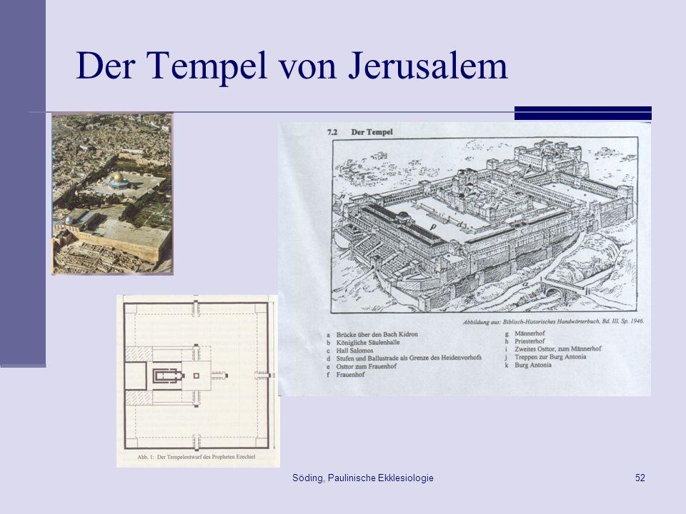 Der Tempel von Jerusalem