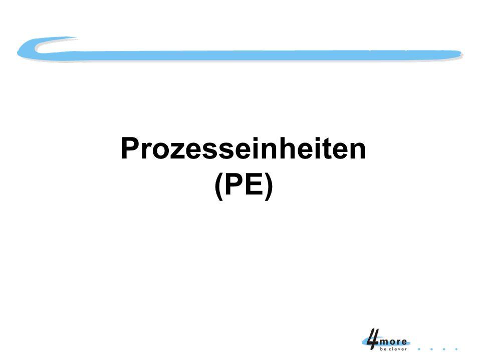 Titelblatt Prozesseinheiten (PE)