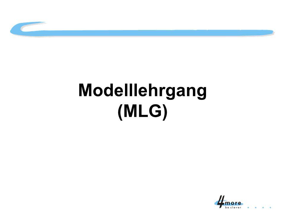 Titelblatt Modelllehrgang (MLG)