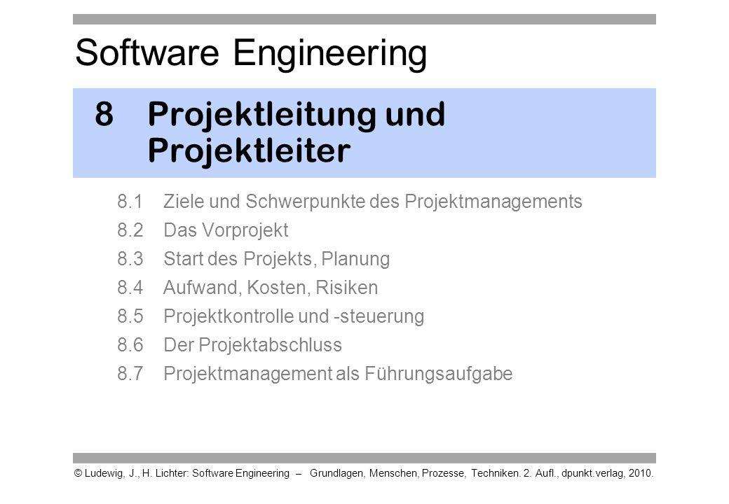 8 Projektleitung und Projektleiter