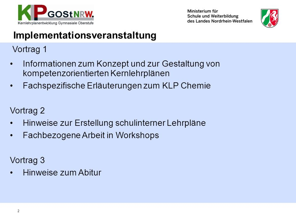 Implementationsveranstaltung
