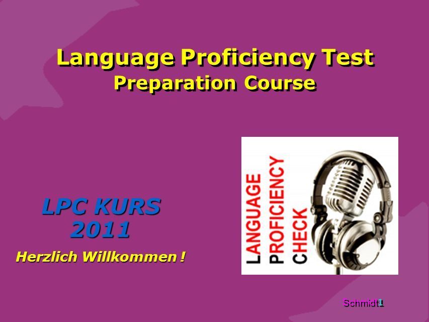Language Proficiency Test Preparation Course