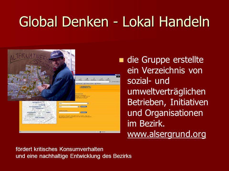 Global Denken - Lokal Handeln