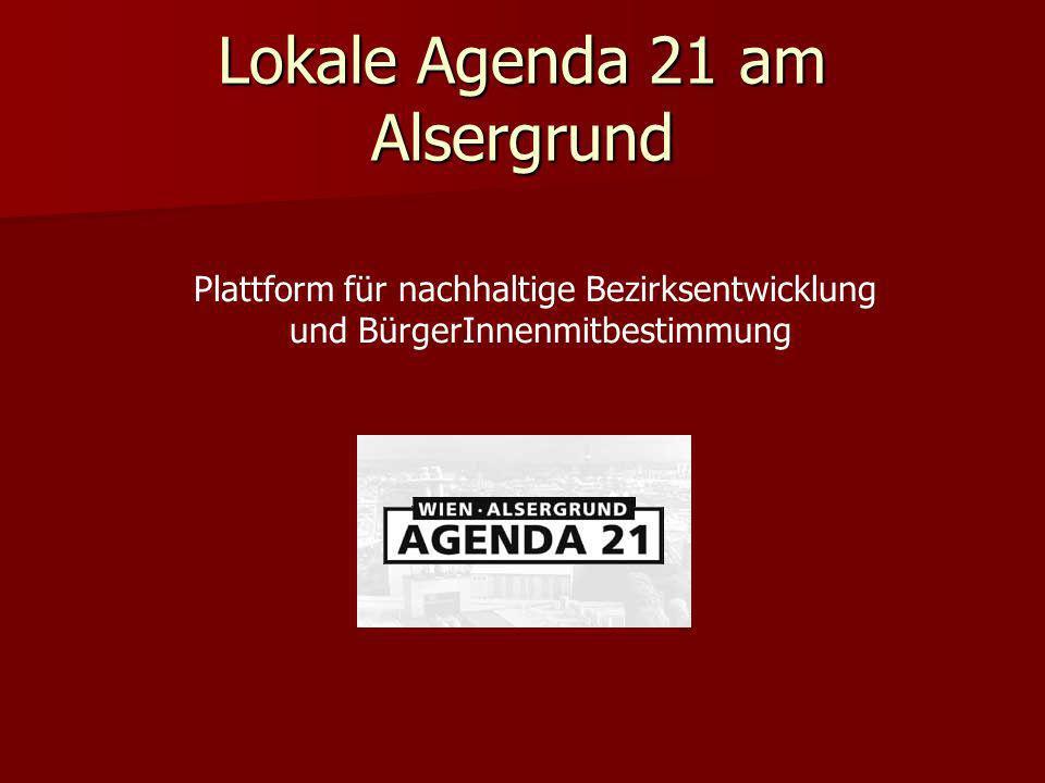 Lokale Agenda 21 am Alsergrund
