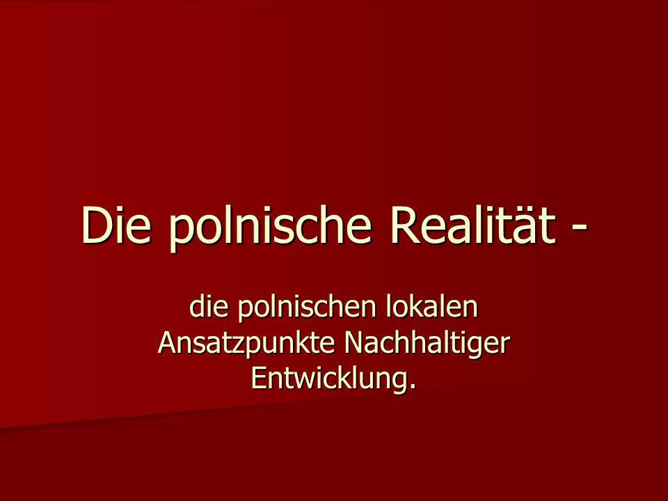 Die polnische Realität -