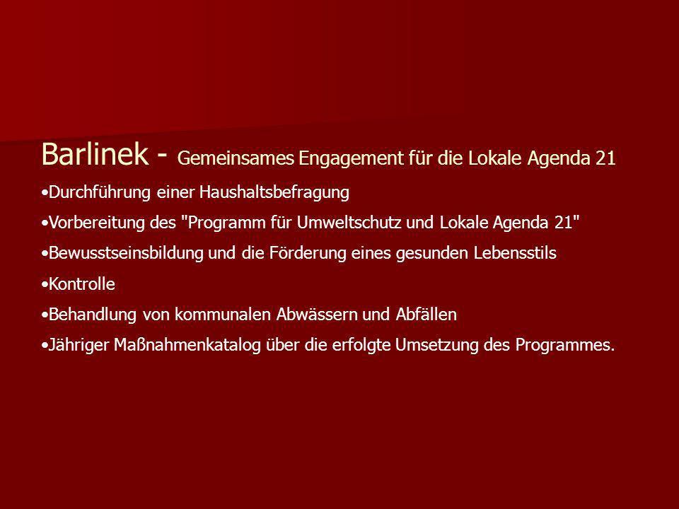 Barlinek - Gemeinsames Engagement für die Lokale Agenda 21