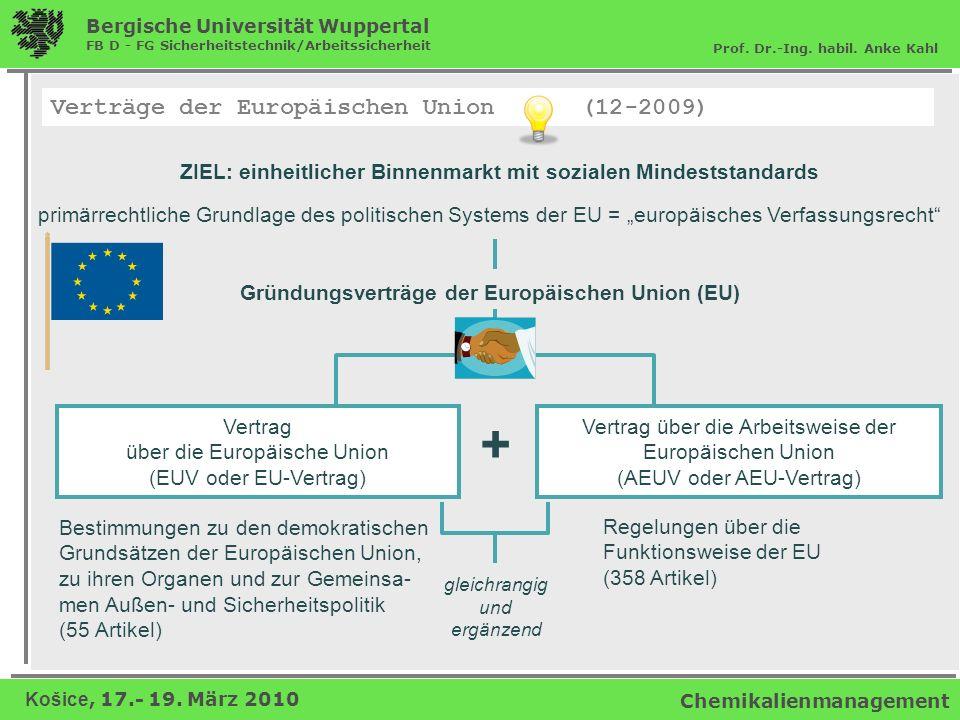 ZIEL: einheitlicher Binnenmarkt mit sozialen Mindeststandards