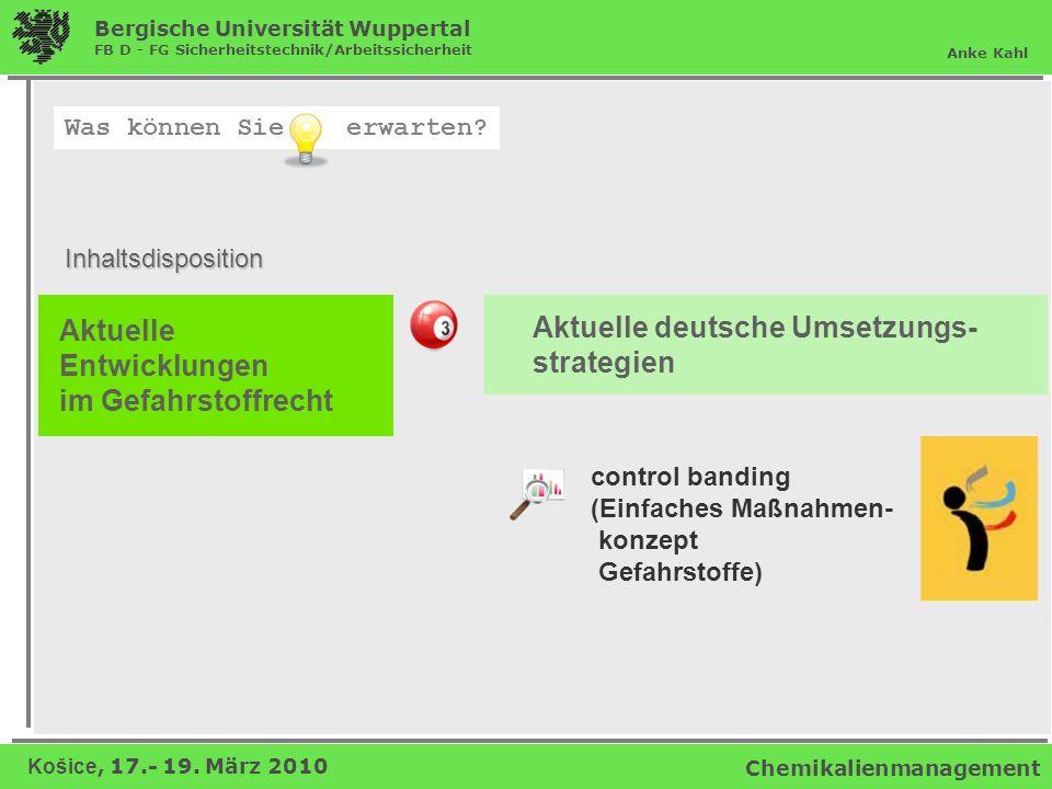 Aktuelle deutsche Umsetzungs- strategien