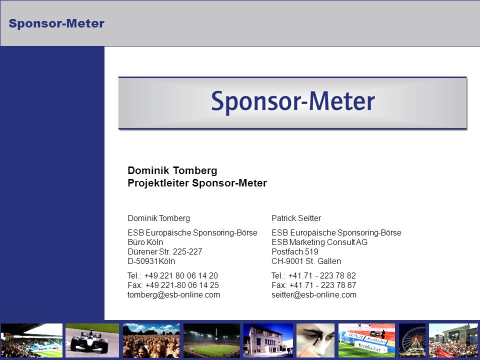 Dominik Tomberg Projektleiter Sponsor-Meter