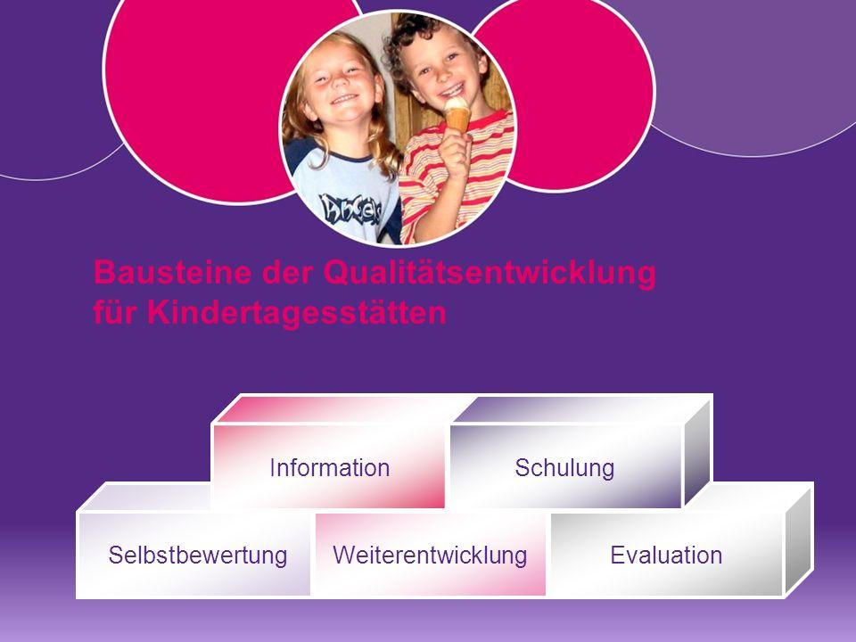 Bausteine der Qualitätsentwicklung für Kindertagesstätten