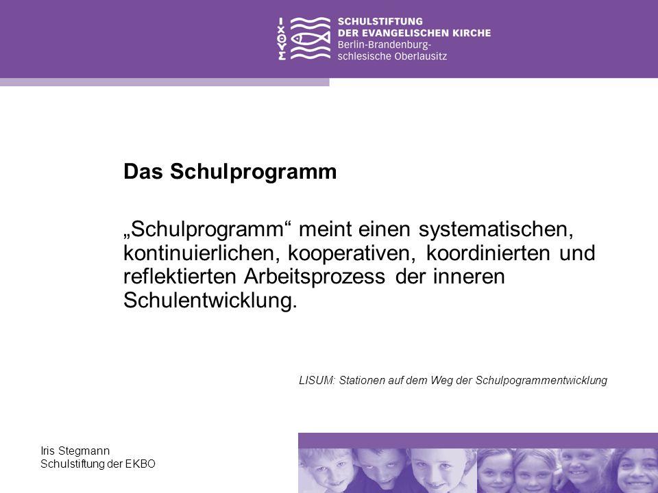 Das Schulprogramm