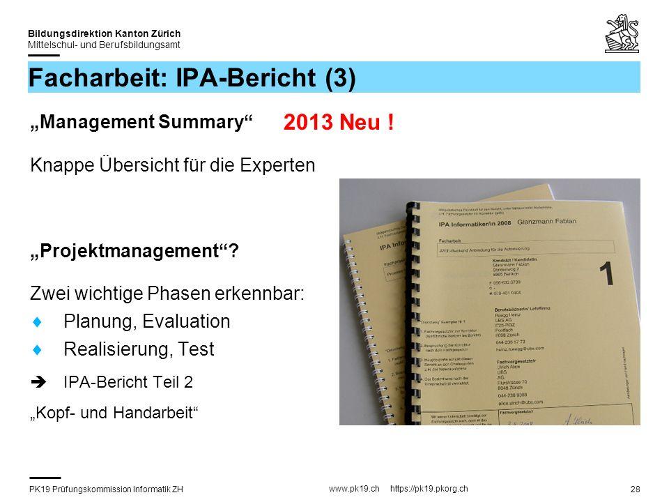 Facharbeit: IPA-Bericht (3)