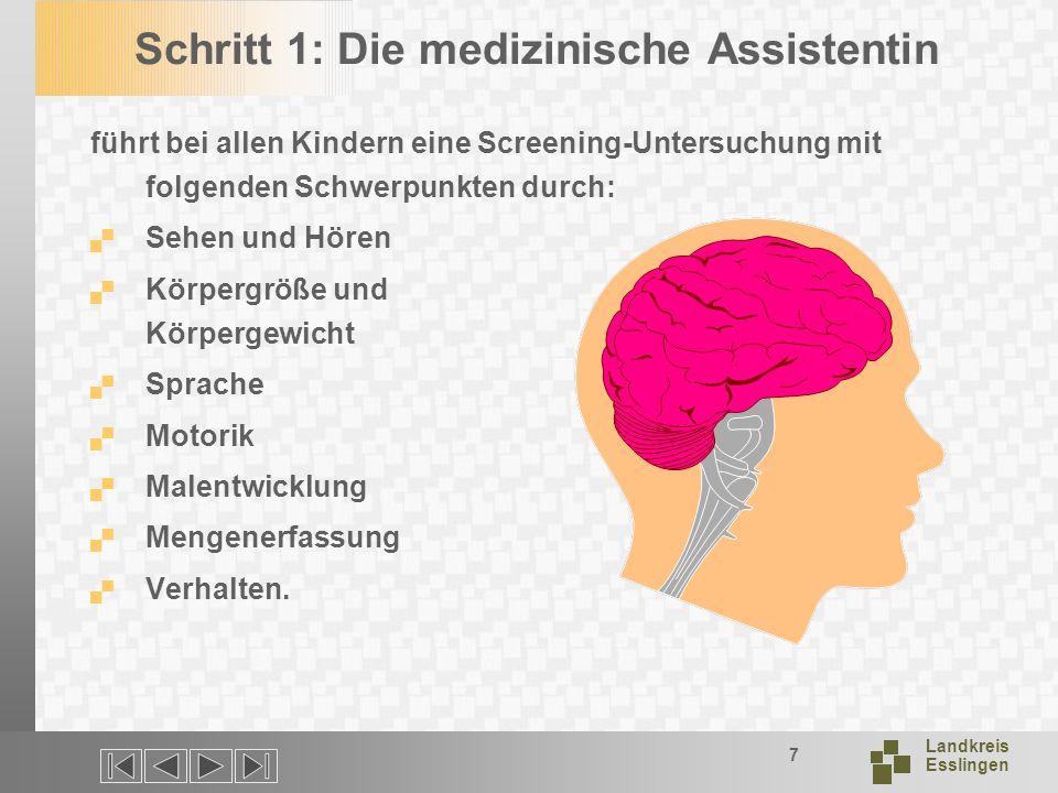 Schritt 1: Die medizinische Assistentin