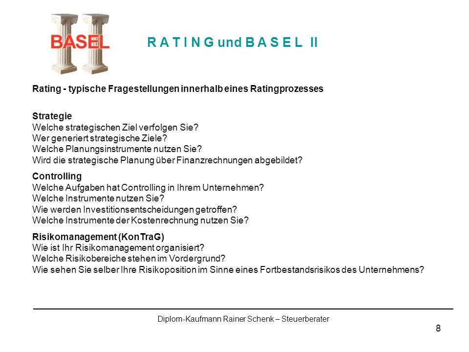 Diplom-Kaufmann Rainer Schenk – Steuerberater