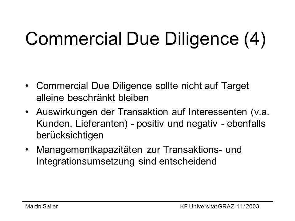 Commercial Due Diligence (4)