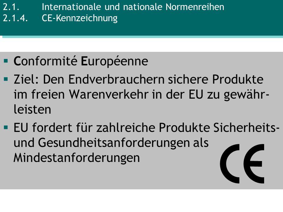 Conformité Européenne