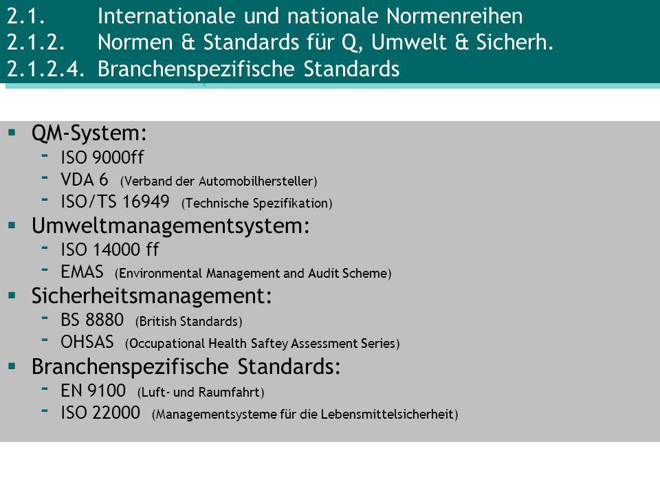 Umweltmanagementsystem: